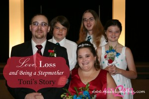 Love, Loss and Being a Stepmother – Toni's Story