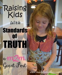 Raising Kids with Standards of Truth – Guest Post by Wynter Pitts, Author, Speaker and Founder of For Girls Like You Ministry