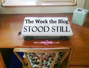 The Week The Blog Stood Still…