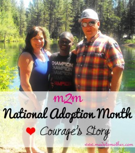 National Adoption Month Series – Courage's Adoptee Story