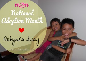 National Adoption Month Series – Robyne's Story