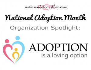 National Adoption Month Series: Organization Spotlight – Adoption is a Loving Option