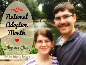 National Adoption Month Series – Alyssa's Story