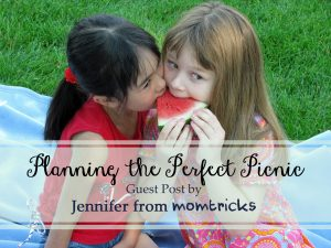 4 Ways to Plan the Perfect Family Picnic – Guest Post by Jennifer