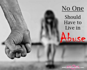 No One Should Have to Live Eight Years with Abuse – An Unnamed Mother's Story